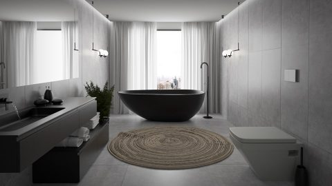 Bath design - amenajare baie, design baie moderna
